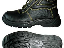 Ботинки укороченные демисезонные с клапаном борто-прошивные