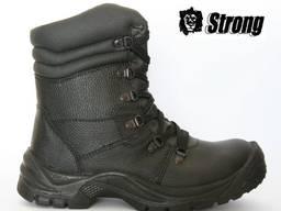 Ботинки с высокими берцами Strong Alfa, металлический поднос