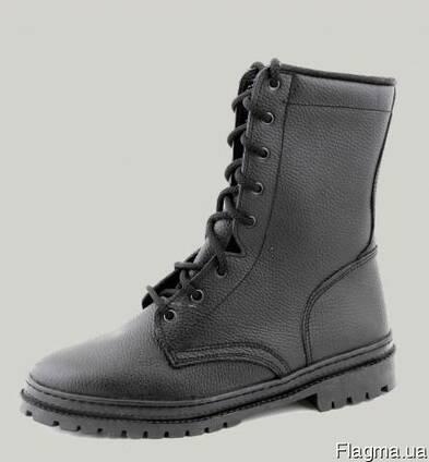 Обувь рабочая, кожанная, утеплённая
