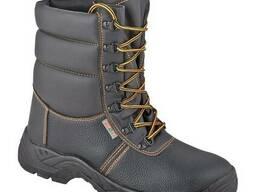 Берцы (ботинки с высокие) рабочие кожаные утепленные Тайга