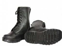 Ботинки с завышенными берцами
