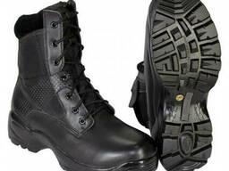 Ботинки США Side Zip черные