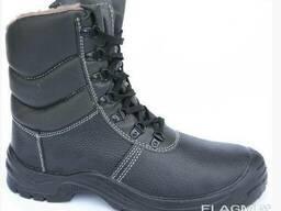Ботинки утепленные с завышенными берцами Taiga, берцы утепле