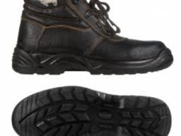 Ботинки юфтевые Е765 на ПУП зимние