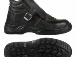 Ботинки юфтевые Е765 Сварщик на ПУП с жестким подноском