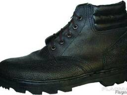 Ботинки юфтевые с мягким кантом П-03