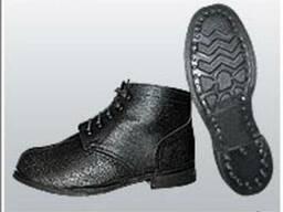 Ботинки юфтевые (В-02) для рабочих