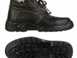Ботинки юфтевые зимние
