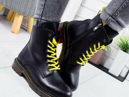 Ботинки женские демисезонные Frow черные 9331