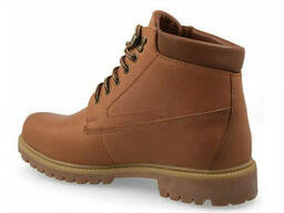 Ботинки зимние Forester Yellow Boot 7751-062 коричневые