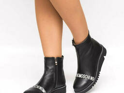 Ботинки зимние кожаные 952-30