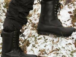 Ботинки зимние Mil-Tec Thinsulate чёрные