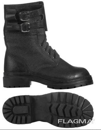 Ботинки зимние омон б/п юфть/кирза (под заказ от 20 пар)