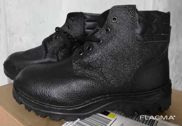 Ботинки зимние рабочие защитная спецобувь мужская