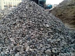 Бой бетона дробленный
