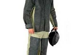 Брезентовый костюм со спилком