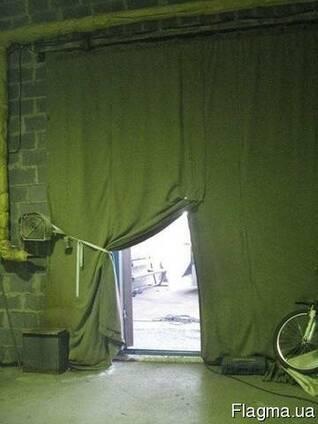 Брезентовые шторы на ворота, перегородки