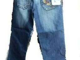 Бриджи джинсовые оптом