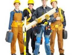 Бригада строителей работа заказы