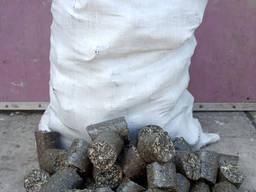 Брикет топливный из лузги подсолнечника - фото 2