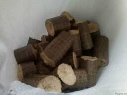 Брикет топливный твердых пород ( дуб, ясень), шелуха семечки