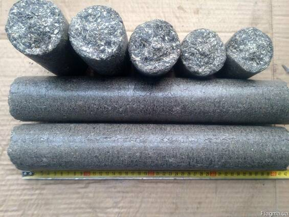 Брикет топливные/подсолнечник -2800грн/тн с доставкой