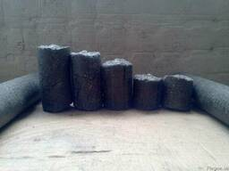 Брикет топливные/подсолнечник -2800грн/тн с доставкой - фото 3
