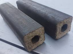Брикеты древесные Пини кей, топливный брикет дуб Pini Kay, евро дрова