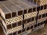 Брикеты топливные из лузги риса Пини Кей - фото 1