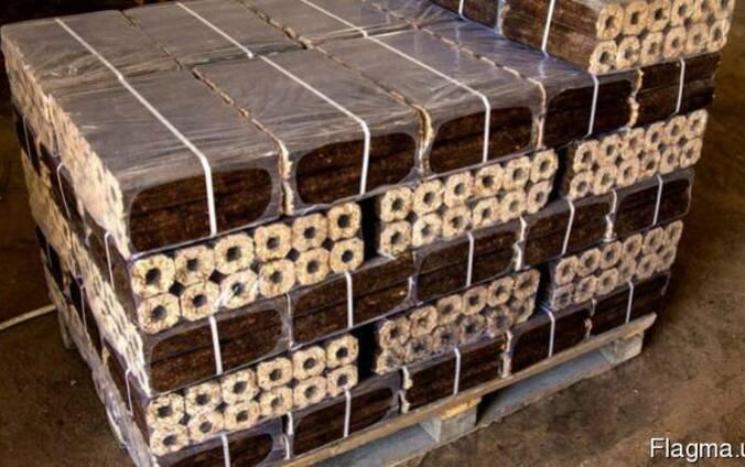 Брикеты топливные из лузги риса Пини Кей