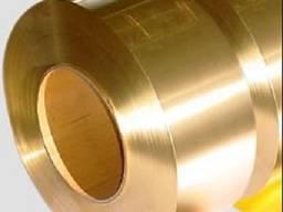 Бронзовая лента D- 0, 15 х 200(250) мм( БрБ2М)