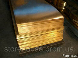 Бронзовая лист БрНБТ 12х400 н/д