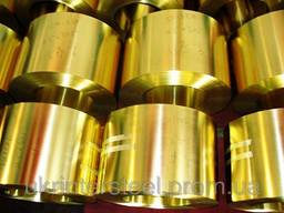 Лента бронзовая БРКМЦ 0, 1мм, 0, 2мм, 0, 15мм