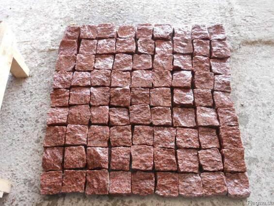 Бруківка гранітна оптом від виробника Коростишів