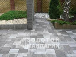 Бруківка, тротуарна плитка Золотой Мандарин
