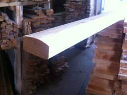 Поручень деревянный 40х60мм длина 2-3-4 метра.