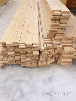 Брус любого сечения L=4 или 4,5 м, купить брус из дерева