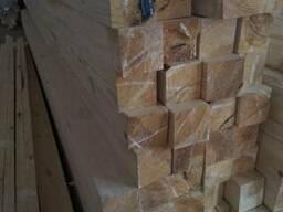 Брус сухой строганный 150х150 мм со склада в Киеве не дорого