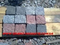 Бруківка гранітна з натурального каменю ціна