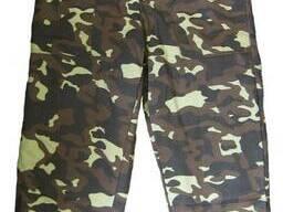 Камуфлированные брюки рабочие