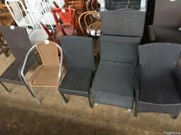 Кресла из ротанга для террас и летних площадок. Распродажа!