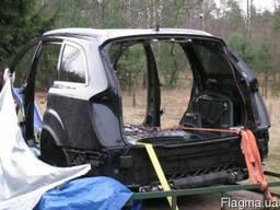 БУ Панель задняя (Детали кузова) на Audi Q7