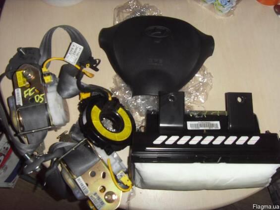 БУ Система безопасности ремней (Компоненты кузова) на Hyunda