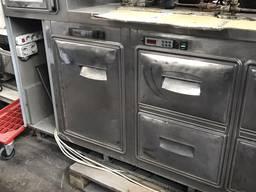 Бу стол холодильно-морозильный Orion, для баров, кафе, ресто