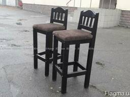Бу стулья барные для кафе бара дома дачи