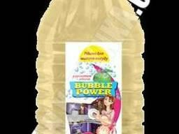 Bubble Power рідина для миття посуду з ароматом яблука 5л.
