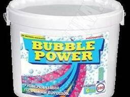 Bubble Power універсальний пральний порошок 6кг.(відро)