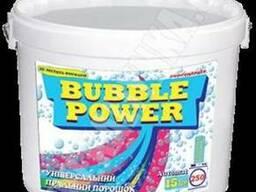 Bubble Power універсальний пральний порошок 15кг.(відро)