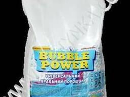 Bubble Power універсальний пральний порошок 10кг. (ПЕ мішок)