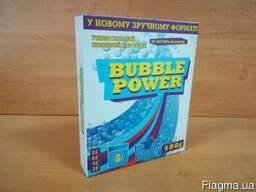 Bubble power универсальный стиральный порошок 400г.